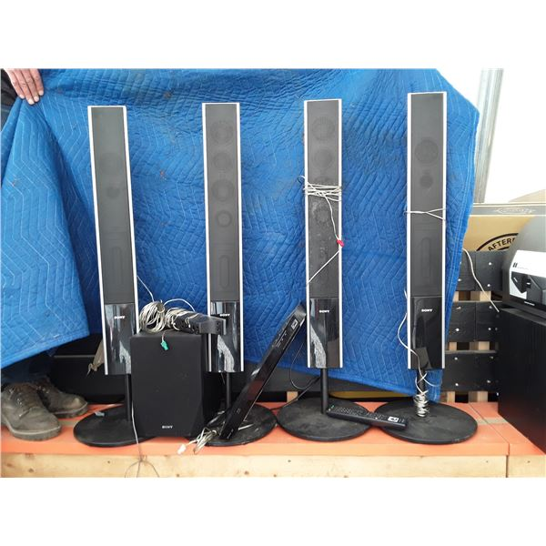 Sony Surround Sound Package with DVD Player