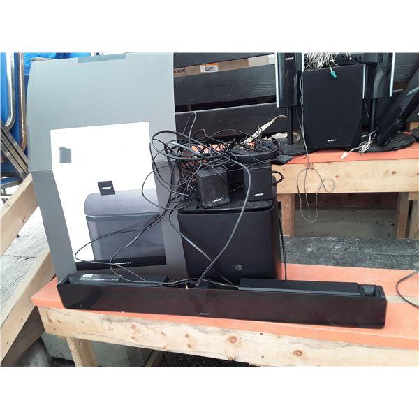 Bose Sound Bar 2 Rear Speakers & Subwoofer