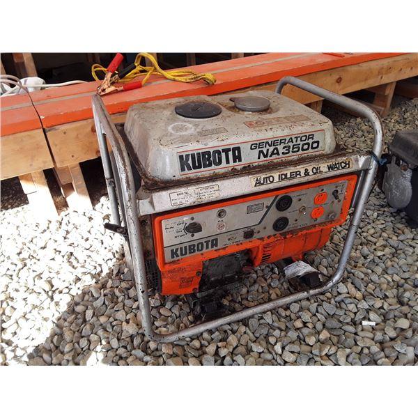 Kubota NA3500 Generator