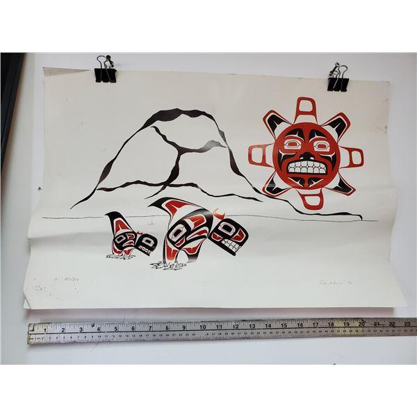 "Native Print    "" Migration""  By David ?"