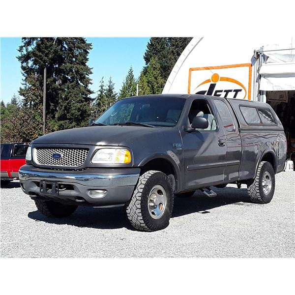 """A9 --  2003 FORD F150 4X4 , Grey , 235637  KM's  """"NO RESERVE"""""""