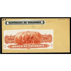 Landing of Columbus Proof Vignette, ca.1860-1910 Also Used on the Back of the U.S. 1st Issue $5 Nati