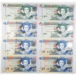 Eastern Caribbean Central Bank, 2008 ND Issued Banknotes