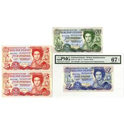 Government of the Falkland Islands, 1984-2011, Group of Issued Notes