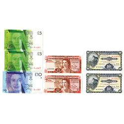 Government of Gibraltar, 1988-2011, Group of Issued Bank Notes