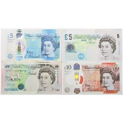 Bank of England Group of Issued Banknotes