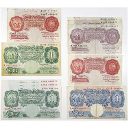 Bank of England, Lot of Issued Banknotes
