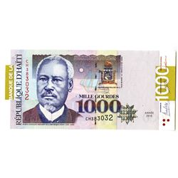 Republic of Haiti, 2015, Issued Banknote