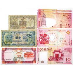 Banco Nacional Ultramarino Group and Banco da China of Issued Notes, 1946-2018