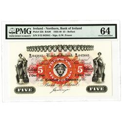 Bank of Ireland, 1940 Highest Graded Issued Banknote