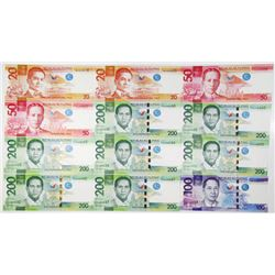 Central Bank of the Philippines, 1970's-2015, Group of issued banknotes