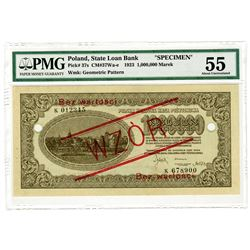 State Loan Bank. 1923. Specimen Banknote.