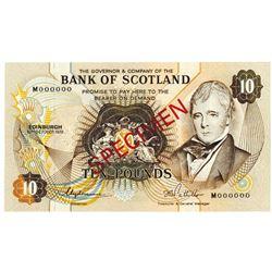 Bank of Scotland. 1979. Specimen Note.