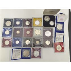 Bank of Israel, 1980's Group of 20 Commemorative Silver Coins