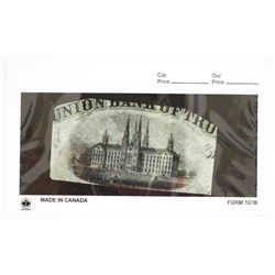 Union Bank of Troy, 1859-1860's Proof Vignette used on $2 Obsolete Banknote listed as SENC in Haxby.