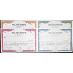 General Services Administration Specimen Bond Quartet, 1976-1977