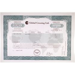 Global Crossing Ltd. 2003 Stock Certificate