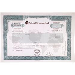 Global Crossing Ltd. 2003 Stock Certificate