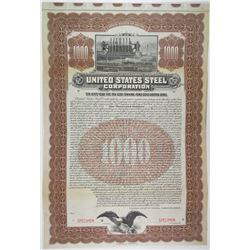 United States Steel Corp. 1903 Specimen Bond