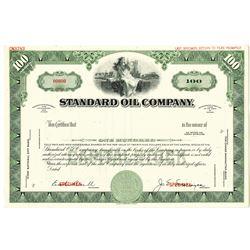 Standard Oil Co. Specimen Stock Certificate