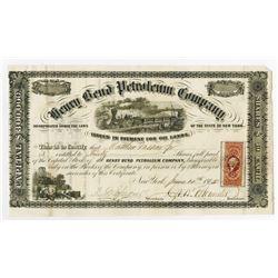 Henry Bend Petroleum Co., 1865 Stock Certificate