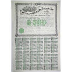Indiana Coal and Railway Co. 1881 I/U Coupon Bond
