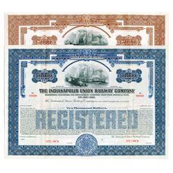 Indianapolis Union Railway Co., 1930 Specimen Bond Pair