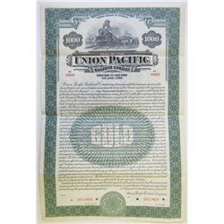 Union Pacific Railroad Co., 1928 Specimen Bond