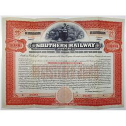 Southern Railway Co. 1901 Specimen Bond