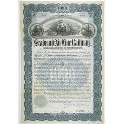 Seaboard Air Line Railway 1901 Specimen Bond