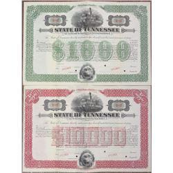 State of Tennessee 1915 Specimen Bond Pair