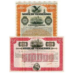 State of Tennessee, 1915 Specimen Bond Pair