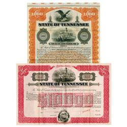 State of Tennessee, 1915 Specimen Bond Pair