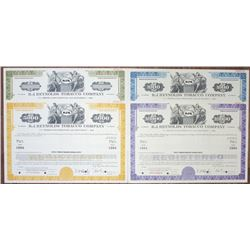 R.J. Reynolds Tobacco Co.. 1969 Specimen Bond Quartet