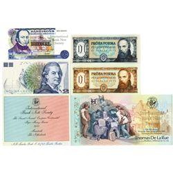 International Bank Note Society, Maastricht, 1988-1993 Quintet.