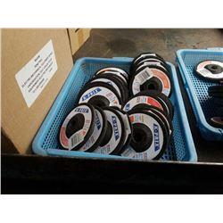Tray of new k prix grinding discs