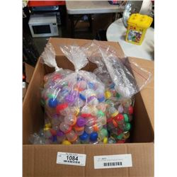 BOX OF NEW WATER SQUISHY ORBIE TYPE BALLS IN CAPSULES
