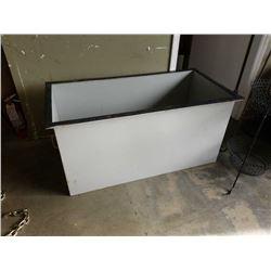 Large metal heavy duty bin