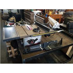 "CRAFTSMAN 10"" TABLE SAW WITH LEGS"