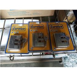 Three new Euro Lux bar locks