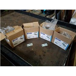 4 BOXES OF 3/8 INCH CEILING FLANGES
