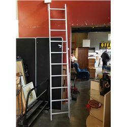 Decorative 10 foot aluminum ladder