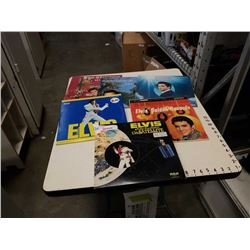 6 ELVIS PRESLEY ALBUMS 2 ARE DOUBLE RECORD ALBUM SETS