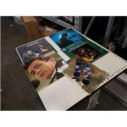 4 JOHNNY CASH ALBUMS PLUS SPECIAL JOHNNY CASH BOOK