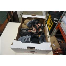 BOX OF SKETCH AIR, NIKE AND OTHER SHOES