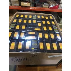 BOX OF 150 NEW LED CANDLES, retail $4 each