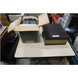BELL AND HOWELL PROJECTOR AND REALIST SLIDE PROJECTOR