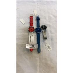 3 NEW MIKE AND DESIGNER WATCHES