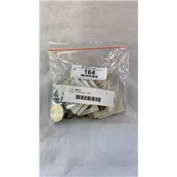 BAG OF VARIOUS COINS