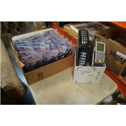 RECHARGEABLE FLASHLIGHTS, ELECTRONICS AND VERIFONE DEBIT TERMINAL